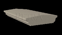 wall coping,cast stone coping,stone coping,precast wall coping
