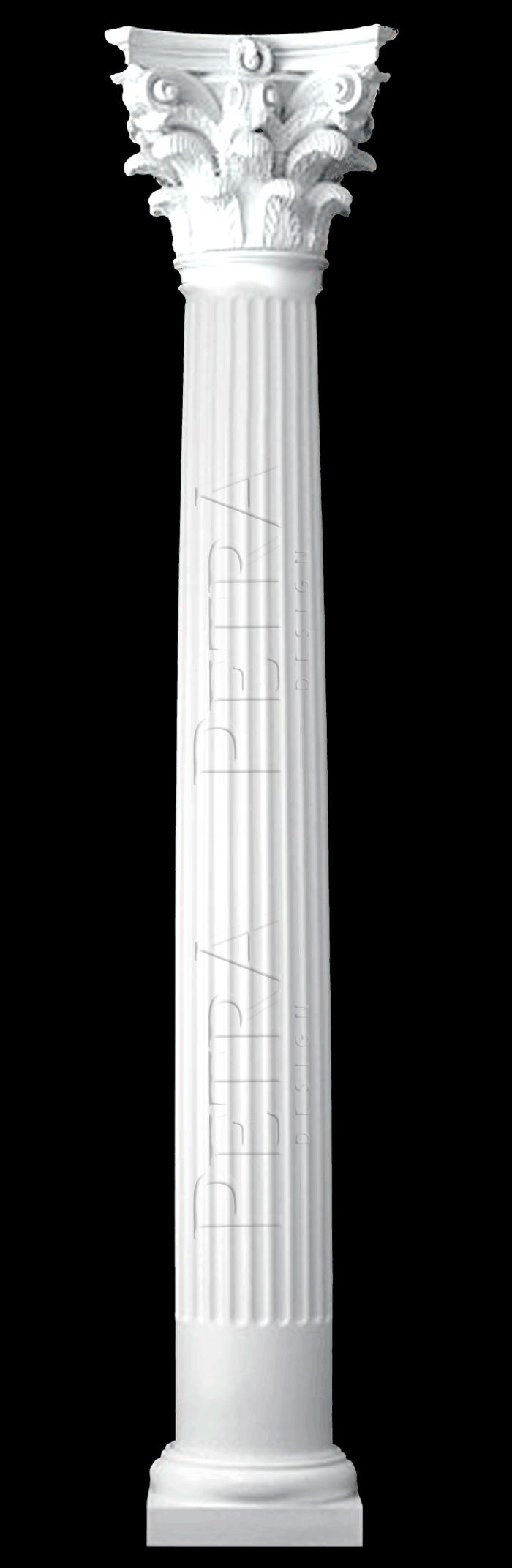 Interiot column grg column column cover fiberglass column for Fiberglass interior columns