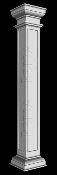 Interior Column Column Cover Fiberglass Column Grg Column