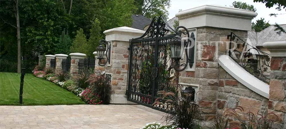 Exterior landscape cast stone precast cocrete products for Precast concrete home designs